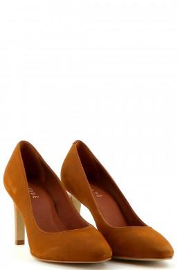 Chaussures Escarpins ANDRE MARRON