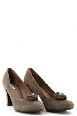 Chaussures Escarpins GEOX GRIS