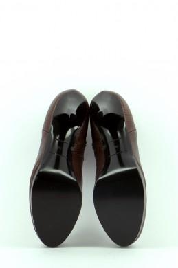 Chaussures Bottines / Low Boots BALENCIAGA CHOCOLAT