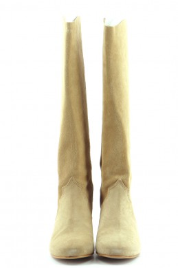 Chaussures Bottes GUESS BEIGE