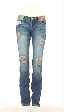 Vetements Jeans DESIGUAL BLEU MARINE