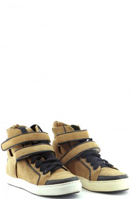 Chaussures Sneakers MAJE BEIGE