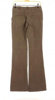Vetements Pantalon CHEMINS BLANCS MARRON