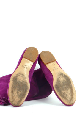Chaussures Bottes MARC JACOBS VIOLET