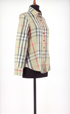 Vetements Chemise BURBERRY OR