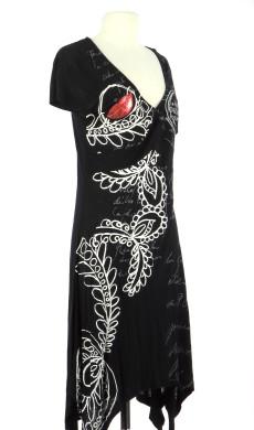 Vetements Robe DESIGUAL NOIR