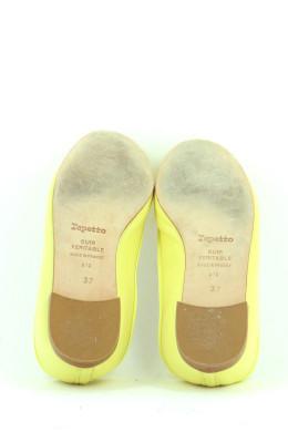 Chaussures Ballerines REPETTO JAUNE