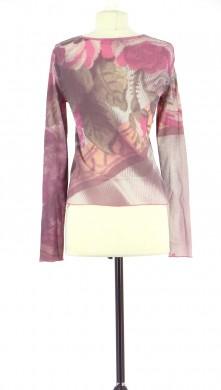 Vetements Tee-Shirt COP COPINE ROSE