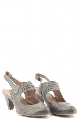 Chaussures Escarpins TAMARIS KAKI