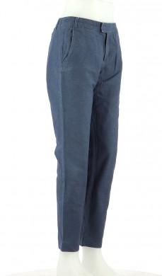 Vetements Pantalon A.P.C. BLEU MARINE