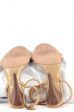 Chaussures Sandales MARC JACOBS MARRON
