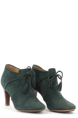Chaussures Bottines / Low Boots SEZANE VERT FONCé