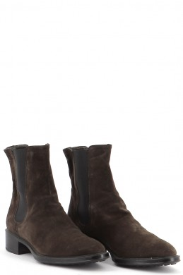 Chaussures Bottines / Low Boots TOD'S CHOCOLAT