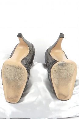 Chaussures Escarpins GUCCI KAKI