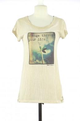 Tee-Shirt CHEMINS BLANCS Femme S
