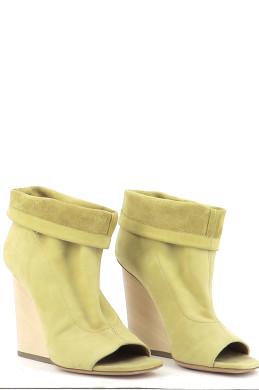 Chaussures Bottines / Low Boots VIC MATIé JAUNE