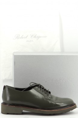 Chaussures Derbies ROBERT CLERGERIE KAKI