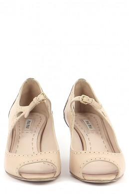 Chaussures Sandales MIU MIU BEIGE