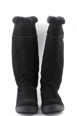 Chaussures Bottes CHANEL NOIR