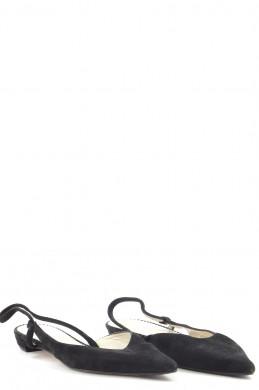 Chaussures Ballerines PARALLELE NOIR
