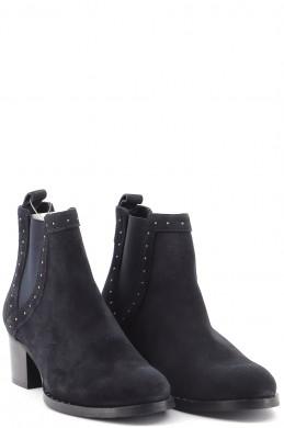 Chaussures Bottines / Low Boots MINELLI BLEU MARINE