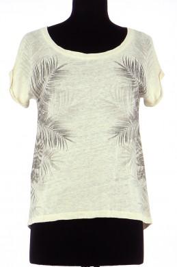 Tee-Shirt COMPTOIR DES COTONNIERS Femme XS