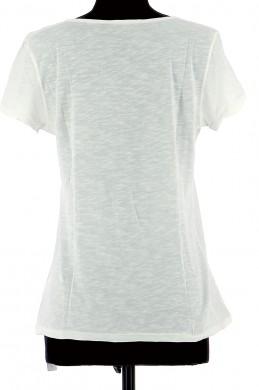 Vetements Tee-Shirt IKKS BLANC