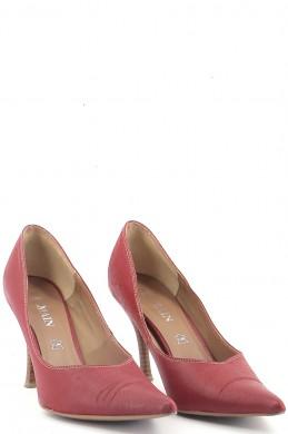 Chaussures Escarpins BALMAIN ROUGE