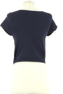 Vetements Tee-Shirt FREE PEOPLE BLEU MARINE