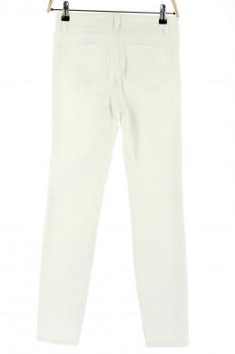 Vetements Pantalon MAJE BLANC