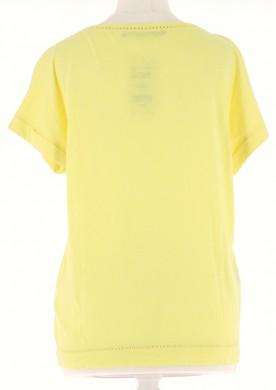 Vetements Tee-Shirt COMPTOIR DES COTONNIERS JAUNE