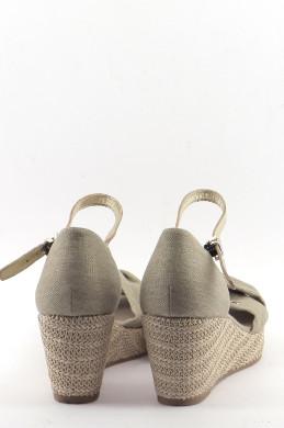 Chaussures Sandales TOMMY HILFIGER BEIGE