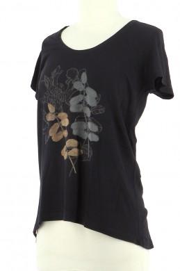Vetements Tee-Shirt COMPTOIR DES COTONNIERS BLEU MARINE