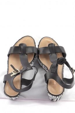 Chaussures Sandales JB MARTIN BLEU MARINE