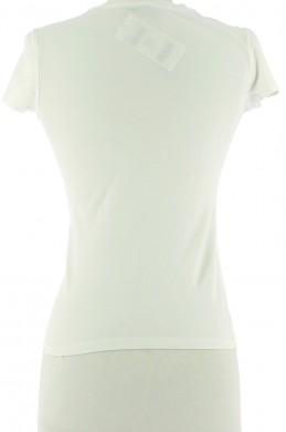 Vetements Tee-Shirt ROBERTO CAVALLI BLANC