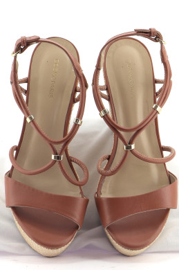 Chaussures Sandales COSMOPARIS MARRON