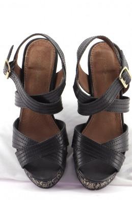 Chaussures Sandales COSMOPARIS NOIR