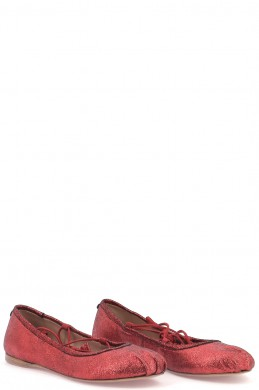 Chaussures Ballerines TWINSET ROUGE