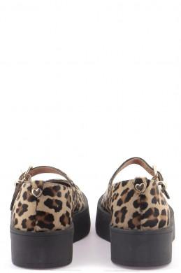 Chaussures Ballerines TWINSET BEIGE