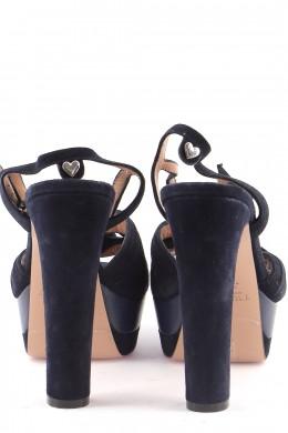 Chaussures Sandales TWINSET BLEU MARINE
