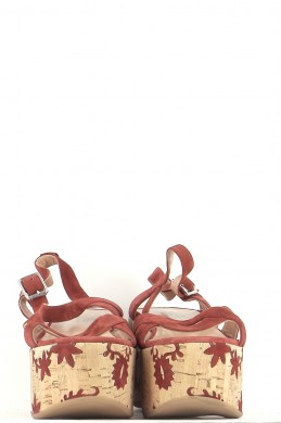 Chaussures Sandales TWINSET BORDEAUX