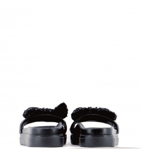 Chaussures Mules TWINSET NOIR