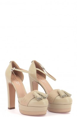 Chaussures Sandales TWINSET BEIGE