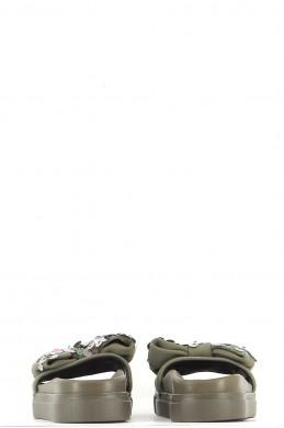 Chaussures Sandales TWINSET KAKI