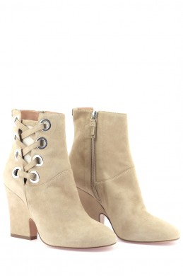 Chaussures Bottines / Low Boots TWINSET BEIGE