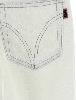 Vetements Jeans D&G BLANC