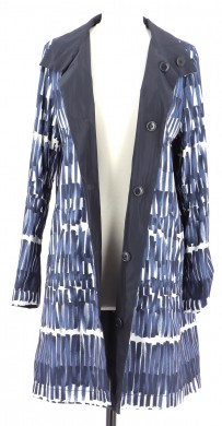 Vetements Trench MAX MARA WEEKEND BLEU