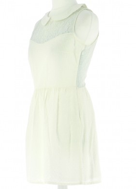 Vetements Robe CLAUDIE PIERLOT BLANC