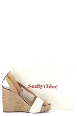 Chaussures Sandales SEE BY CHLOÉ BEIGE