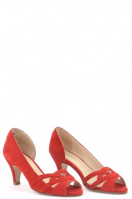 Chaussures Escarpins COSMOPARIS ROUGE